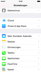 Apple iPhone 5s - iOS 8 - E-Mail - Manuelle Konfiguration - Schritt 7