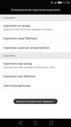Huawei P8 - Contactgegevens overzetten - delen via Bluetooth - Stap 11