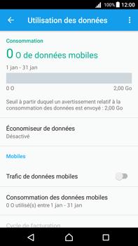 Sony Xperia Z5 Premium (E6853) - Android Nougat - Internet - Désactiver les données mobiles - Étape 7