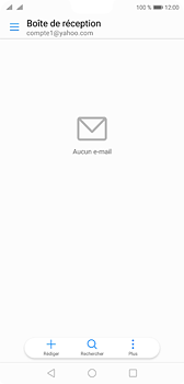 Huawei P20 - E-mail - 032b. Email wizard - Yahoo - Étape 3