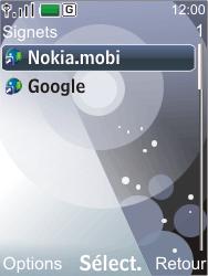 Nokia 7210 supernova - Internet - Navigation sur Internet - Étape 8