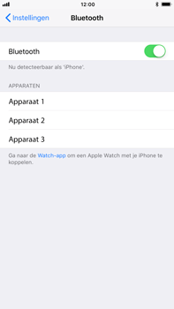 Apple iPhone 8 Plus - Bluetooth - verbinden met ander Bluetooth apparaat - Stap 5