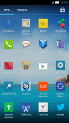 Alcatel One Touch Idol S - Applications - Installing applications - Step 3