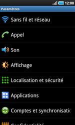 Samsung I9000 Galaxy S - Réseau - utilisation à l'étranger - Étape 7