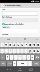 Huawei Ascend P6 LTE - E-Mail - Konto einrichten - Schritt 15