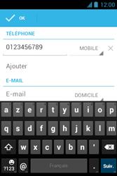 Bouygues Telecom Bs 351 - Contact, Appels, SMS/MMS - Ajouter un contact - Étape 11