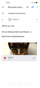 Oppo A72 - E-mails - Envoyer un e-mail - Étape 15