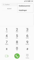 Samsung Galaxy S6 Edge - Android Nougat - Voicemail - handmatig instellen - Stap 6