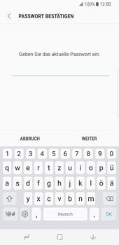 Samsung Galaxy S8 - Datenschutz und Sicherheit - Zugangscode ändern - 7 / 16
