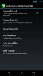 Motorola XT890 RAZR i - SMS - Manuelle Konfiguration - Schritt 6