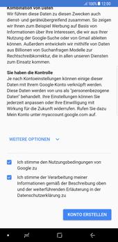 Samsung Galaxy S8 Plus - Apps - Konto anlegen und einrichten - 16 / 21