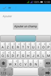 Alcatel Pixi 3 Dual Sim - Contact, Appels, SMS/MMS - Ajouter un contact - Étape 10