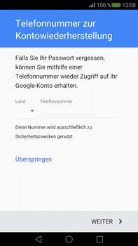 Huawei Mate S - Apps - Konto anlegen und einrichten - Schritt 13
