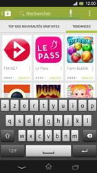 Sony Xpéria SP - Applications - Télécharger une application - Étape 14