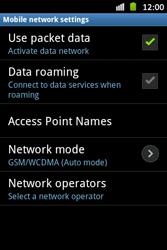 Samsung S6500D Galaxy Mini 2 - Internet - Manual configuration - Step 7