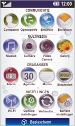 LG GD900 Crystal - Voicemail - Handmatig instellen - Stap 3