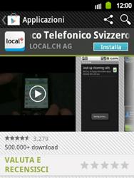 Samsung Galaxy Y - Applicazioni - Installazione delle applicazioni - Fase 7