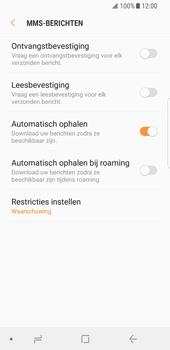 Samsung Galaxy S8 - Android Oreo - MMS - probleem met ontvangen - Stap 10