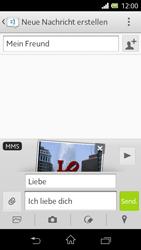 Sony Xperia L - MMS - Erstellen und senden - 2 / 2