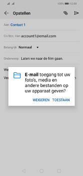 Huawei Y5 (2019) - E-mail - e-mail versturen - Stap 11