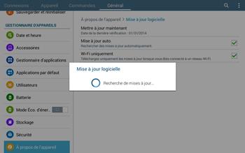 Samsung T535 Galaxy Tab 4 10.1 - Logiciels - Installation de mises à jour - Étape 10
