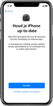 Apple iphone-xs-max-met-ios-13-model-a1921 - Instellingen aanpassen - Activeer het toestel en herstel jouw iCloud-data - Stap 22