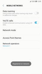 Samsung Galaxy S6 - Android Nougat - Network - Manual network selection - Step 11