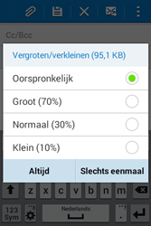 Samsung Galaxy Young2 (SM-G130HN) - E-mail - Hoe te versturen - Stap 17