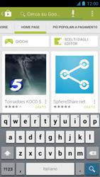 Alcatel One Touch Idol - Applicazioni - Installazione delle applicazioni - Fase 6