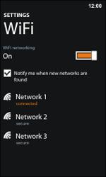 Nokia Lumia 800 / Lumia 900 - WiFi - WiFi configuration - Step 8