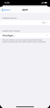 Apple iPhone XS Max - iOS 14 - E-Mail - Manuelle Konfiguration - Schritt 21