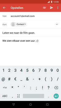 Nokia 8 Sirocco - E-mail - e-mail versturen - Stap 8
