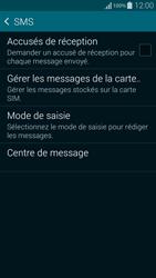 Samsung G850F Galaxy Alpha - SMS - configuration manuelle - Étape 7