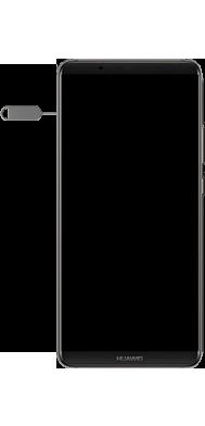 Huawei Mate 10 Pro - Android Pie - SIM-Karte - Einlegen - Schritt 2