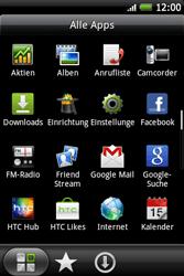 HTC Wildfire S - Ausland - Im Ausland surfen – Datenroaming - 5 / 11