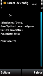 Nokia X6-00 - Internet - configuration automatique - Étape 5