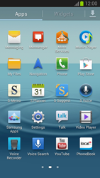 Samsung Galaxy S III - Internet and data roaming - Manual configuration - Step 3