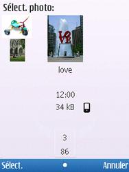 Nokia C5-00 - MMS - envoi d'images - Étape 14