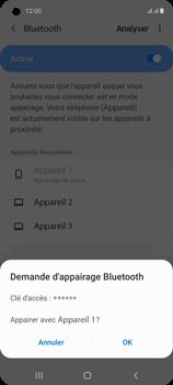 Samsung Galaxy A21s - Internet et connexion - Connexion avec un équipement multimédia via Bluetooth - Étape 9