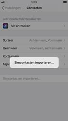Apple iPhone SE (2020) (Model A2296) - Contacten en data - Contacten kopiëren van SIM naar toestel - Stap 5