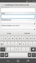 Sony D5803 Xperia Z3 Compact - E-mail - Account instellen (POP3 met SMTP-verificatie) - Stap 10
