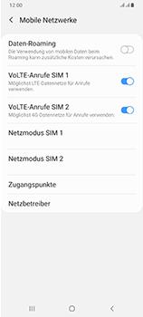 Samsung Galaxy A70 - Internet und Datenroaming - Deaktivieren von Datenroaming - Schritt 7