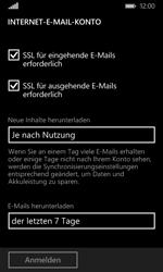Microsoft Lumia 532 - E-Mail - Konto einrichten - 18 / 22