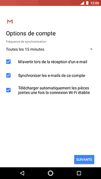 Nokia 6 (2018) - E-mail - Configuration manuelle (outlook) - Étape 10