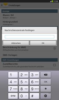 Samsung Galaxy Tab 3 7-0 - SMS - Manuelle Konfiguration - 7 / 9