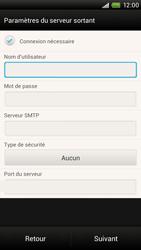 HTC S728e One X Plus - E-mail - Configuration manuelle - Étape 12