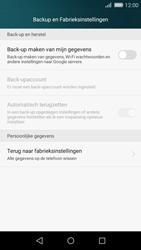 Huawei P8 Lite - toestel resetten - fabrieksinstellingen terugzetten - stap 4