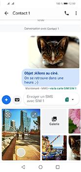 Huawei Y5 (2019) - Contact, Appels, SMS/MMS - Envoyer un MMS - Étape 20