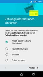Sony Xperia Z5 Compact - Apps - Einrichten des App Stores - Schritt 17