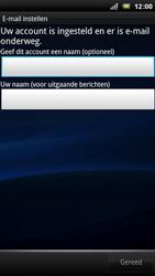 Sony Ericsson Xperia Arc - E-mail - e-mail instellen: POP3 - Stap 10
